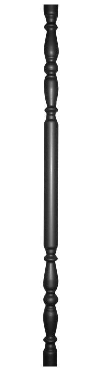 Стойка из круглой металлической трубы