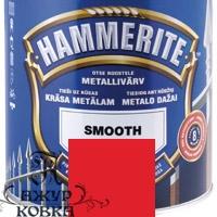 Краска Hammerite глянцевая антикоррозийная, 0,7л, красная