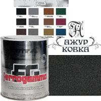 Краска Vik Ferrogamma с метал. крошкой, 0,75л, 1770 черная