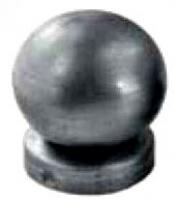 Крышка стойки под трубу Ф42мм с шаром Ф60мм