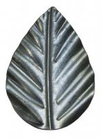 Листок железный. Размер 47х34мм. Толщина металла 1,2мм