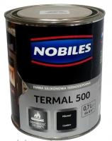 Термостойкая краска Nobiles Termal серебро, до 500 °С, 700мл