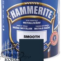 Краска Hammerite глянцевая антикоррозийная, 0,7л, графитовая
