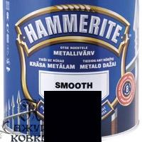 Краска Hammerite глянцевая антикоррозийная, 0,7л, черная