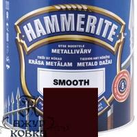 Краска Hammerite глянцевая антикоррозийная, 2,5л, темно-коричнев