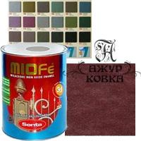 Краска Miofe с металл. крошкой, 0,75л, 721 терракотовая