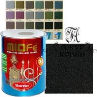Краска Miofe с металл. крошкой, 0,75л, 770 черная