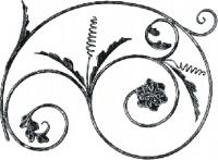 Розетка из круга (коры) 12мм. Размер 550х750мм
