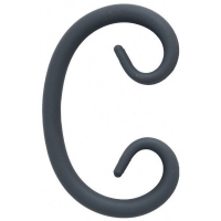 "Завиток ""С"" из гладкого круга 12мм. Размер 125х80мм"