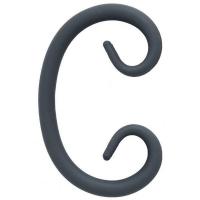 "Завиток ""С"" из гладкого  круга 12мм. Размер 155х95мм"