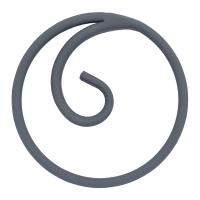 Кольцо из гладкой полосы 12х6мм. Диаметр 120мм