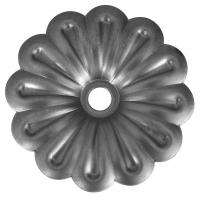 Железный цветок. Размер 100мм. Толщина металла 1,2мм