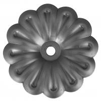 Железный цветок. Размер 120мм. Толщина металла 2мм