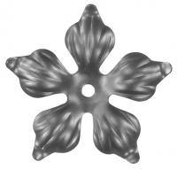 Железный цветок. Размер 135мм. Толщина металла 2мм