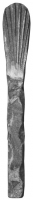 Кованая лапка из вальцованного квадрата 12мм. 150х20мм
