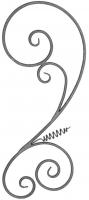 Розетка из круга (коры) 12мм. Размер 840х360мм