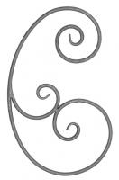 Розетка из круга (коры) 12мм. Размер 560х330мм