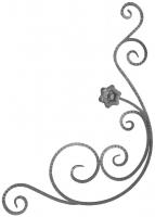 Розетка из фактурного квадрата 14мм. 1020х785мм