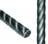 Труба витая Ф76х3,0. Длина 3мп. Цена за 1мп