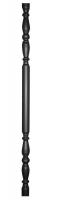 Балясина декоративная из трубы Ф38х1,5мм, гладкая поверхность