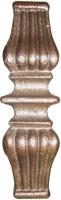 Перстень литой из металла для квадрата 16мм. Размер 148х48мм