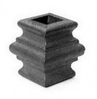 Перстень литой из металла для квадрата 12мм. Размер 40х45мм