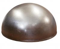 Полусфера металлическая гладкая Ф80мм