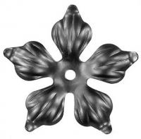 Железный цветок. Размер 90мм. Толщина металла 1,5мм