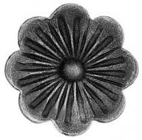 Железный цветок. Размер 95мм. Толщина металла 5мм