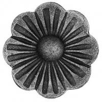 Железный цветок. Размер 62мм. Толщина металла 4мм