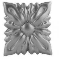 Железный цветок. Размер 85x75мм. Толщина металла 2мм