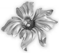 Железный цветок. Размер 143х130мм. Толщина металла 2мм