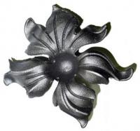 Железный цветок. Размер 160мм. Толщина металла 4мм