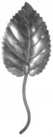 Листочек железный. Размер 125х45мм. Толщина металла 1,5мм