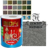 Краска Miofe с металл. крошкой, 0,75л, 701 серебристая